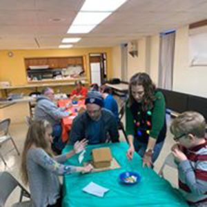 ESPC Gingerbread House Decorating 2019