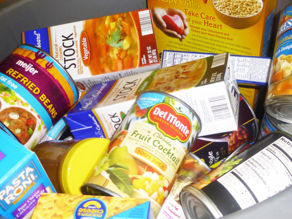 Canned Good for Food Drive